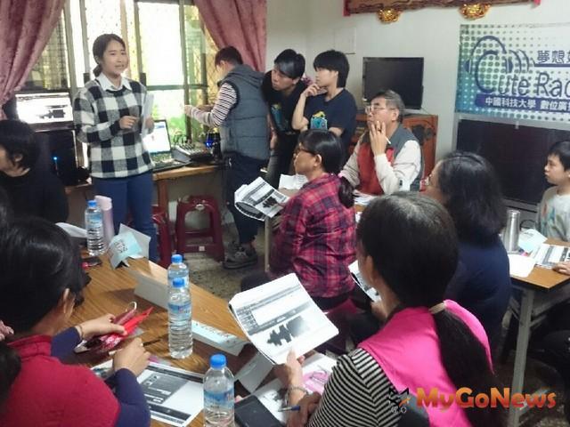 2018大專青年組中國科大數位廣播社聲音快遞,打造聲音社區節目部軟體、硬體教學(圖:信義房屋)