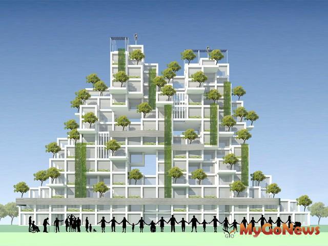 中市發布宜居建築設施設置辦法,鼓勵增設垂直綠化及鄰里空間(圖:台中市政府)