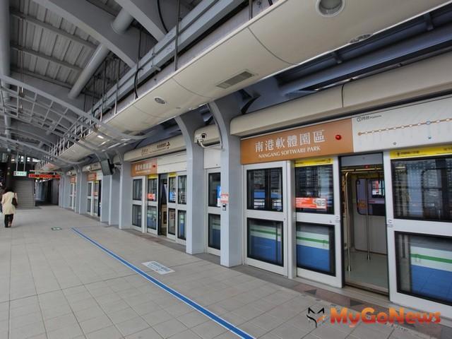 人氣竄升十大捷運站出列!南港軟體園區站成長19.8%居冠,降價效應帶動高人氣、高買氣!  松山線4站入榜