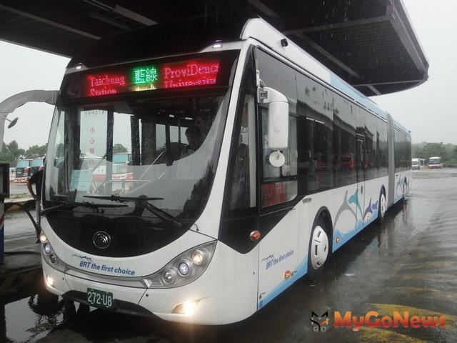 BRT通車後 台灣大道行車效率顯著提升(圖:台中市政府)
