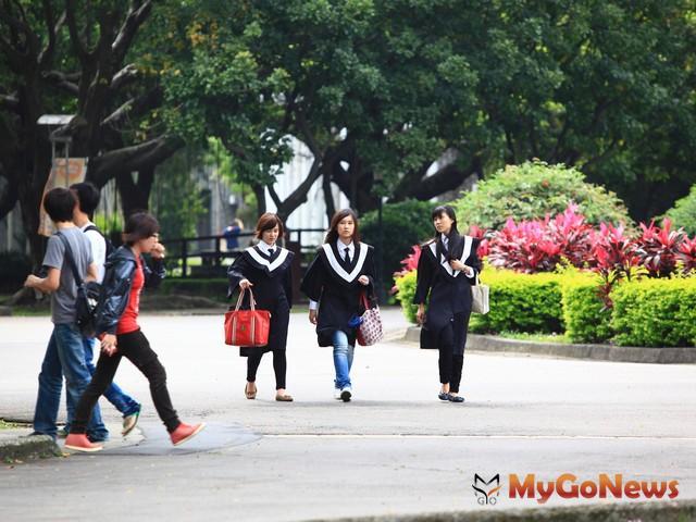 每年6、7月隨著學生畢業潮,大學學區附近中古屋也跟著引起換手熱潮