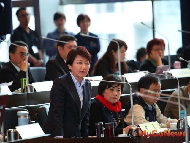 盧秀燕強調:捷運綠線延伸建設「好的建設要做!」(圖:台中市政府)
