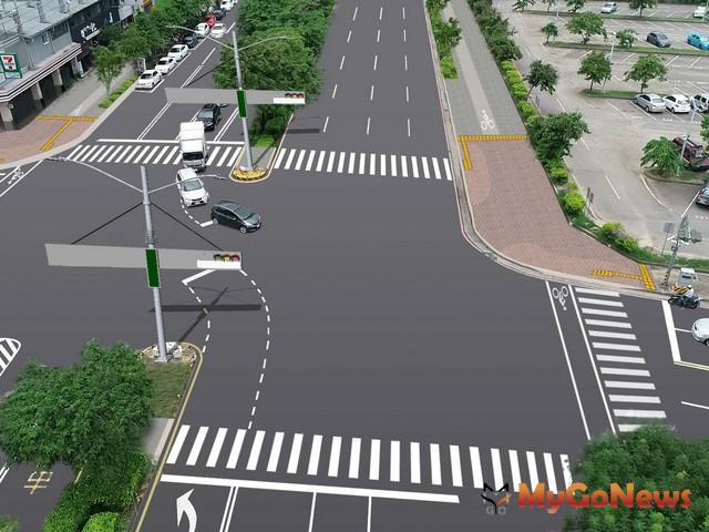 中市路平經費獲中央前瞻補助,太原路將打造中部前瞻計畫示範道路(圖:台中市政府)