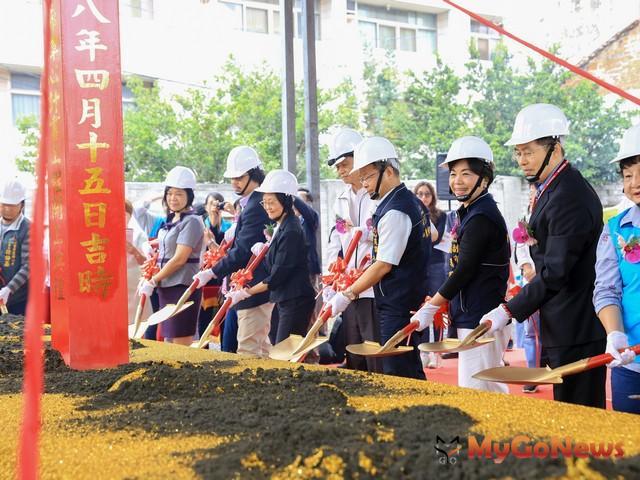 豐潭段城鎮之心鐵道綠廊開工,整合鐵路周邊帶動地方發展(圖:台中市政府)