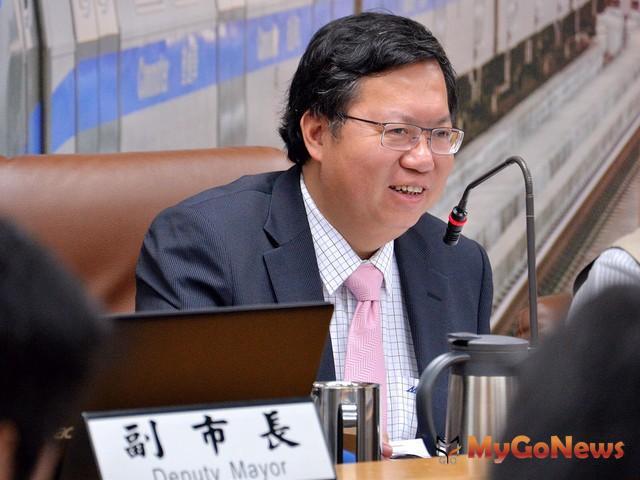 鄭文燦:妥善規劃南平公園運動中心OT案時程,打造桃園成為健康城市(圖:桃園市政府)