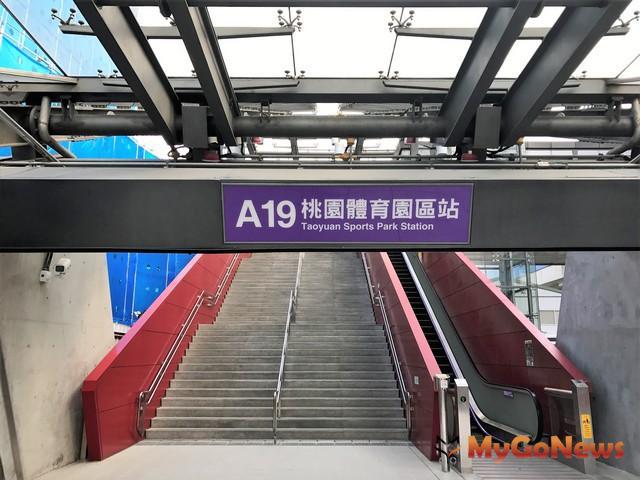 台灣桃園國際機場聯外捷運系統A19站(桃園體育園區站) 商場標租案
