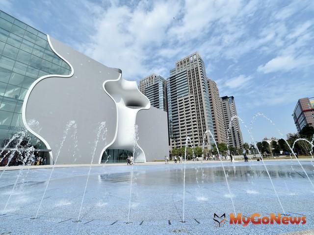 獨創曲牆與美聲涵洞設計 台中國家歌劇院獲日本優良設計獎肯定(圖:台中市政府) MyGoNews房地產新聞 區域情報