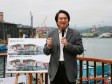 林右昌:基隆啟動懷舊碼頭色彩塗佈示範計畫