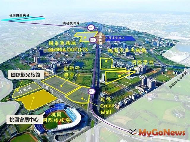 鄭文燦:桃園會展中心預計2019年發包、2020年動工(圖:桃園市政府)