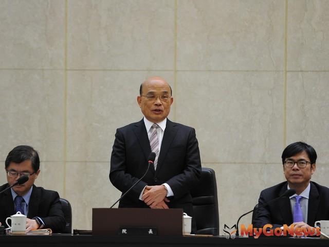 行政院長蘇貞昌表示,政府每10年定期舉辦人口及住宅普查,具相當重要性。 MyGoNews房地產新聞 市場快訊