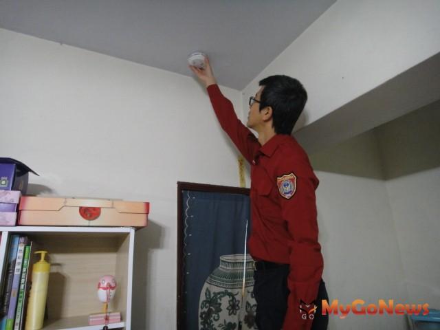 保障居家消防安全 中市投入800萬元補助安裝住警器(圖:台中市政府)