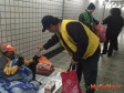 中區有巢氏房屋送抗寒物資,助街友暖過冬