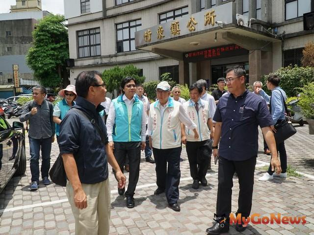 內政部長訪竹東,中央+地方合作打造前瞻「城鎮之心」(圖:新竹縣政府)