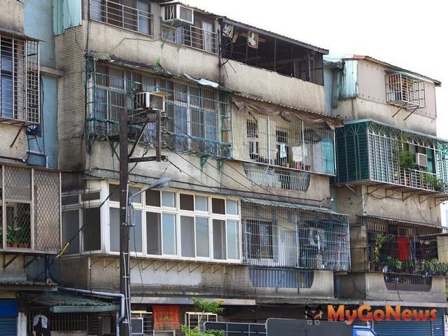 改造老舊公寓,最高補助216萬元