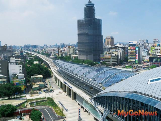 台中鐵路高架化新建5通勤站,目標2018年10月完工(圖:台中市政府)