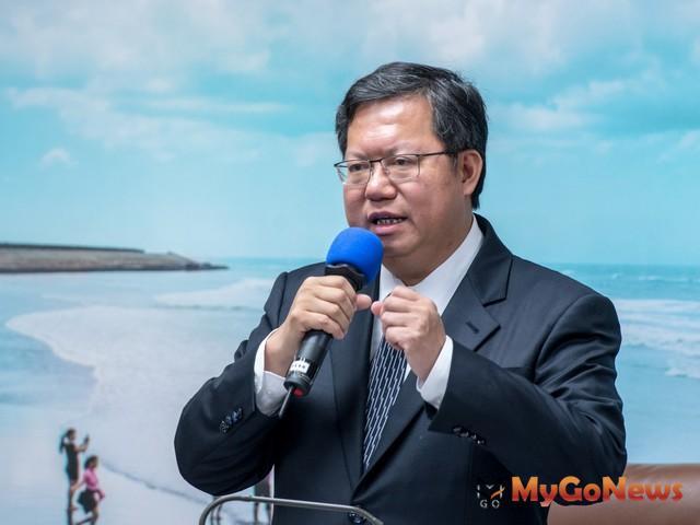 鄭文燦:落實違章建築拆除,提高公安保障(圖:桃園市政府)