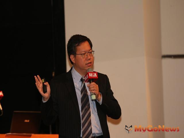 鄭文燦:航空城計畫目前在正確的軌道,市府將逐步推動智慧城市