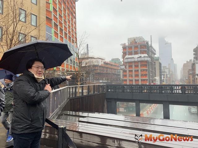 參觀水岸都市再生 林右昌:基隆市港規劃已具紐約水準(圖:基隆市政府)
