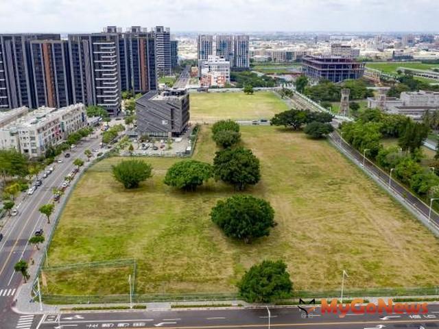 永康砲校第一期生活服務專用區已順利標出,未來將打造成為永康指標性移居生活圈(圖:台南市政府)