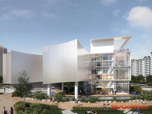 國家電影中心(北側示意圖)統包工程順利決標,打造新北市成為台灣電影新窗口(圖:新北市政府)