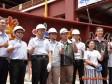 柯文哲 出席環南市場改建工程上樑典禮