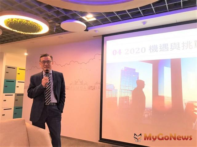 劉學龍:商辦榮景應該還有3年,2023年台北南港、西區約41萬坪釋出,若市場需求減少,將會是商辦隱憂