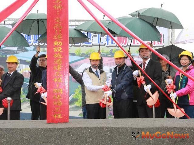 文高11運動設施遷建工程今動土,提供市民優質運動服務空間(圖:台南市政府)
