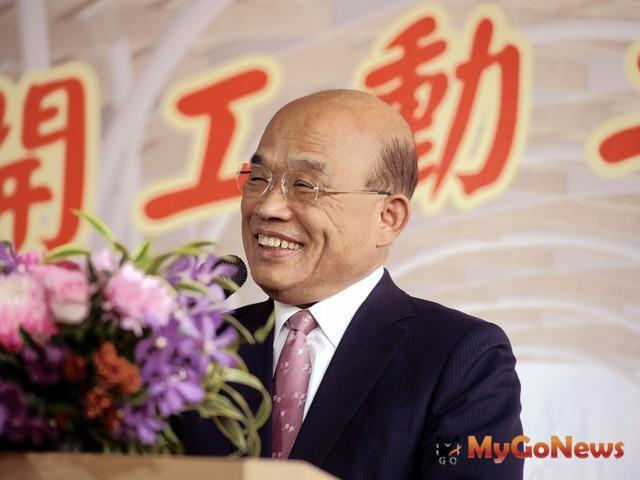 蘇貞昌:中央大力支持基隆建設,邁向國際化城市(圖:行政院)