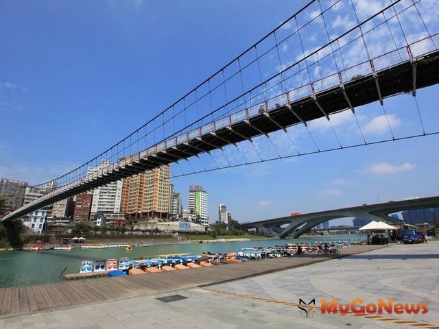 張璠鄭重表示:「碧潭吊橋一定會保留,只可能更安全,絕不因周邊都更而消失!」