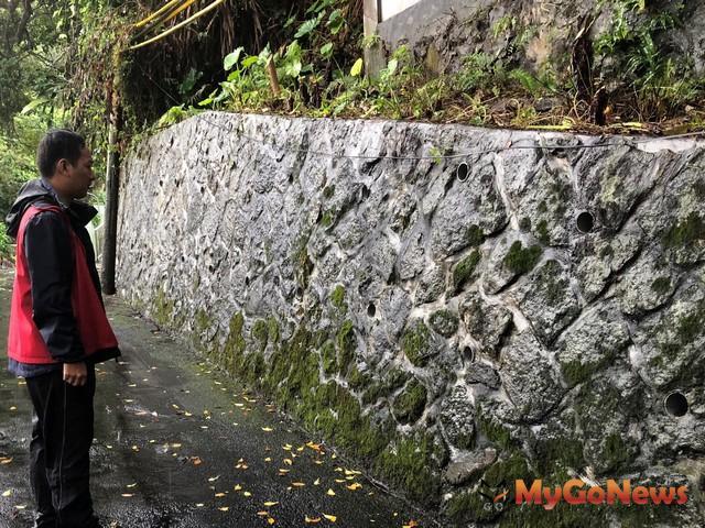 大地處專業技師定期巡勘觀測讓山坡地住宅更安心(圖:台北市政府)