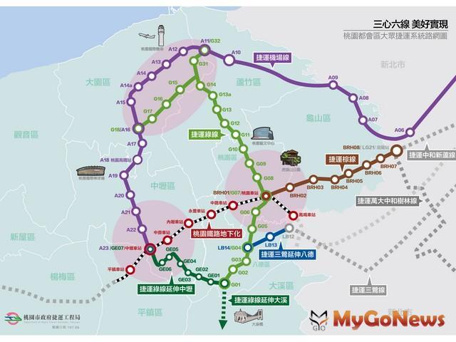 桃園市政府與德商西門子團隊合作,打造綠線捷運(圖:桃園市政府)