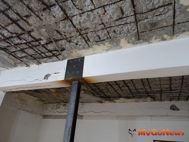 台北市列管海砂屋已拆除37件,補強完竣5件