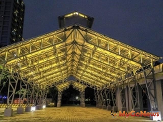 廢墟成美景,新北市板橋浮洲榮工修配廠房遷移、再利用(圖:營建署)