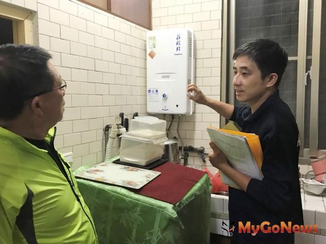 中市2018年續編420萬預算補助遷移及更換熱水器 預計1,400戶受惠