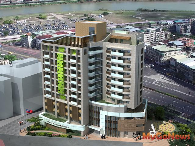 新北永和 中正橋頭新地標,打造智慧、永續、通用好社宅(圖:新北市政府)