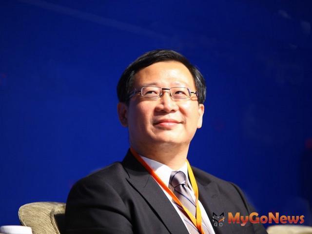 吳志揚縣長親臨現場致詞,並表示物流業是桃園縣發展三大主軸產業之一,物流實力居全台之冠。
