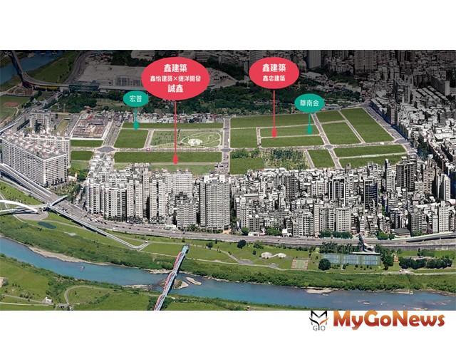 新店央北 建商群聚「搶地」,鑫建築團隊「誠鑫」開賣2個月已經創下了六成的佳績(圖:業者提供)