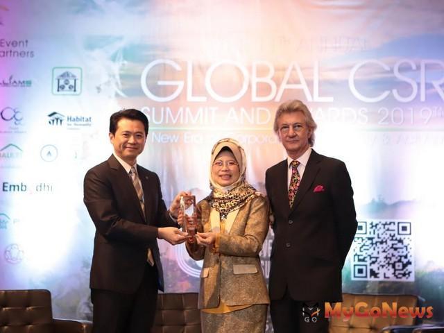 台灣唯一 信義房屋國際發光,榮獲第11屆全球企業社會責任獎六項大獎(圖:信義房屋)