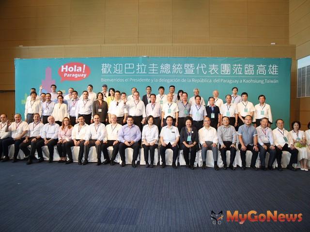 卡提斯訪高雄 陳菊陪同參訪亞洲新灣區(圖:高雄市政府)