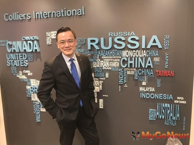 高力國際董事總經理劉學龍表示,商用加土地,首季交易總額達824億,創單季成交金額歷史新高