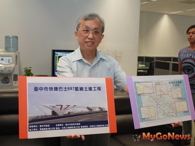 交通局長林良泰說:網路完整、班次密集BRT是最佳選項
