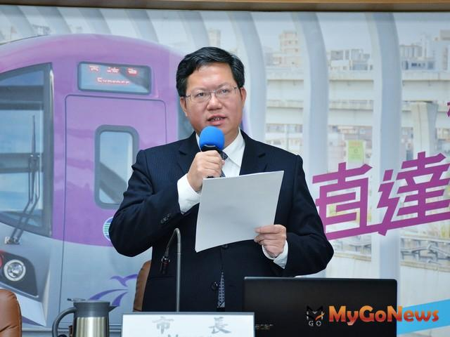 鄭文燦:增設捷運工程局、資訊科技局,推動各項重大建設(圖:桃園市政府)