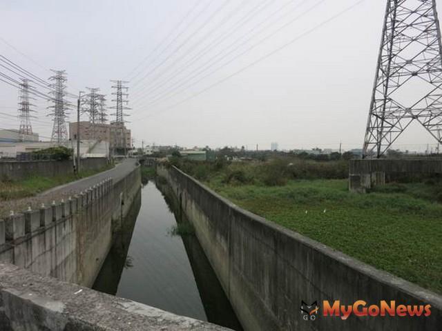 高雄岡山五甲尾滯洪池完成用地取得2020年動工興建(圖:高雄市政府)