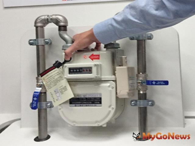 接受管線定期檢查及換裝微電腦瓦斯表確保用氣安全(圖:台北市政府)