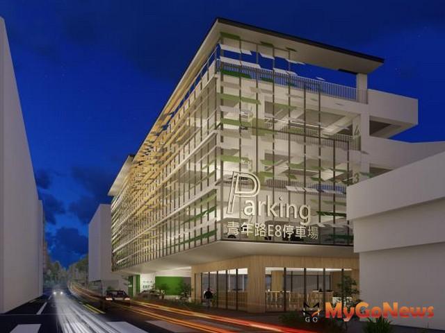 台南再獲中央前瞻計畫補助興建2處立體停車場(圖:台南市政府)