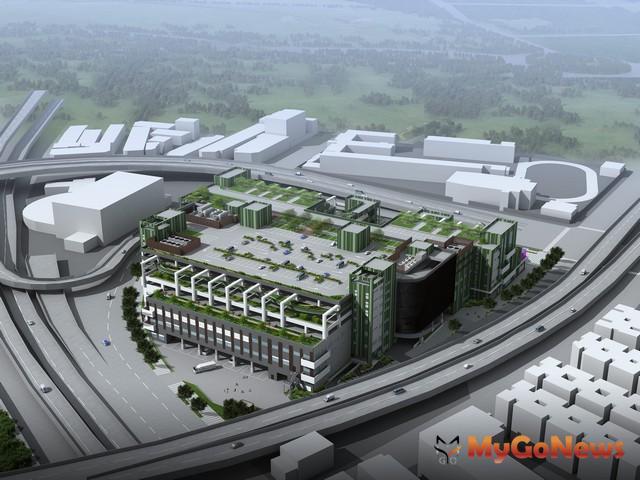 環南市場改建第一期中繼市場預定12月正式營運,9月份起進場籌備並試營運(圖:台北市政府)