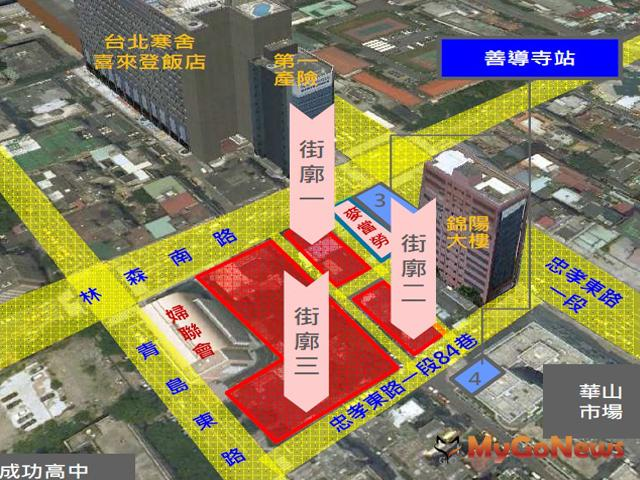 「台北市立成功高中旁國有土地設定地上權案」,於2012年10月29日召開招商座談會,預計於2012年12月公告招商。