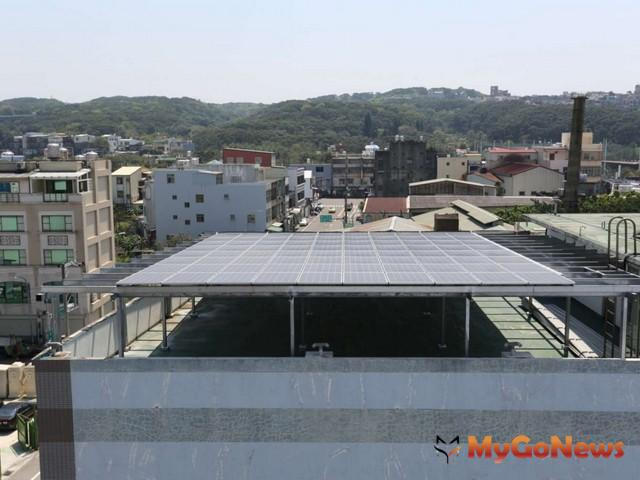 屋頂裝設太陽能光電設備,不列入房屋稅課徵範圍
