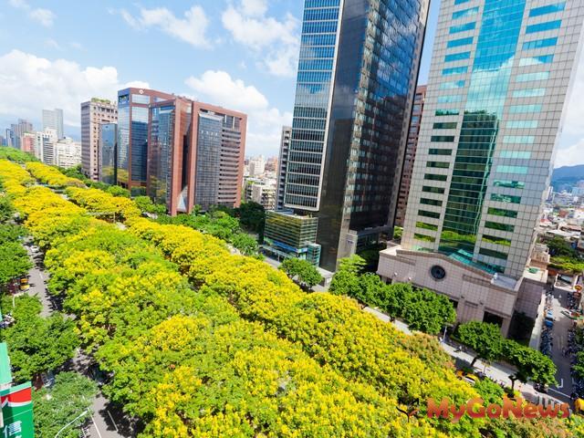 桃園春日路小檜溪路段,將與台北市敦化南路相同,發展成為區域內重要的林蔭大道。