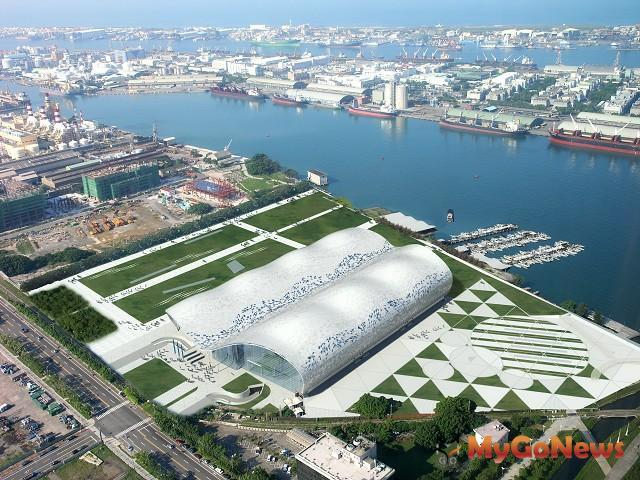 高雄展覽館預定2014年4月首展(圖:高雄市政府)